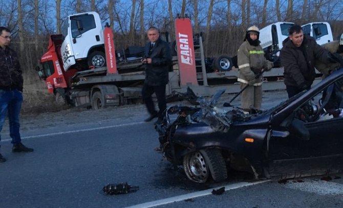 Две молодые женщины погибли в ДТП в Шемуршинском районе Чувашии (4)