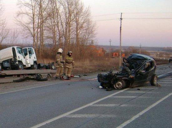 Две молодые женщины погибли в ДТП в Шемуршинском районе Чувашии (1)