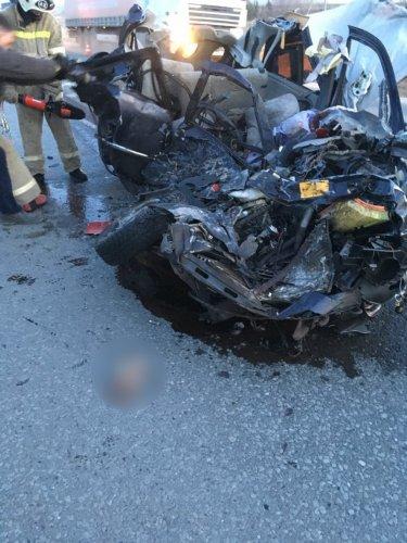 Две молодые женщины погибли в ДТП в Шемуршинском районе Чувашии (3)