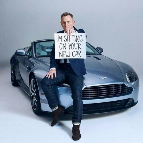 Дэниел Крэйг и Aston Martin 1