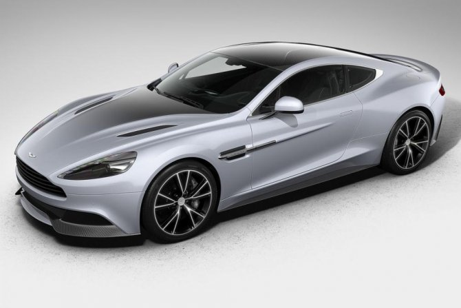 Aston Martin Vanquish из ограниченной серии Centenary Edition