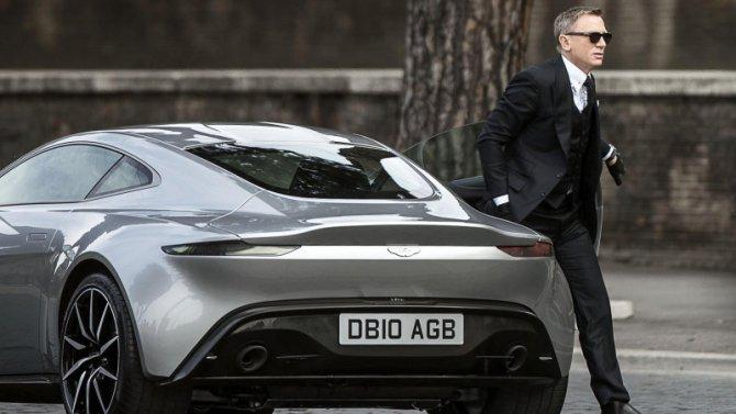 Aston Martin в фильме %22Спектр%22 про Джеймса Бонда