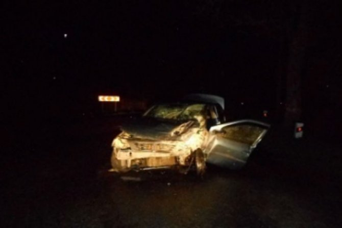 В Краснознаменском районе в ДТП пострадали три человека
