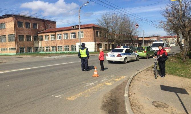 В Рыбинске женщина-водитель сбила двух девочек