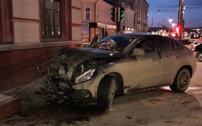 Ребенок пострадал в ДТП в центре Омска