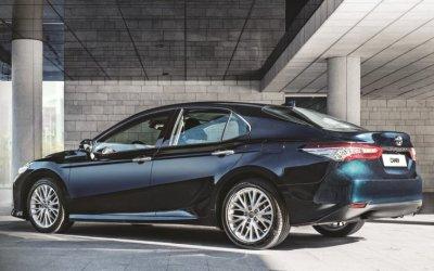 В России стартовали продажи нового поколения Toyota Camry
