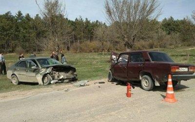 В лобовом ДТП в Белогорском районе погиб человек