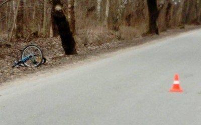 Под Зеленоградском BMW сбило 13-летнюю велосипедистку