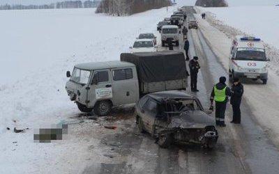 23-летний водитель погиб в ДТП в Башкирии