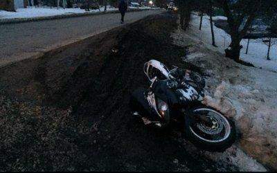 В Щекинском районе пострадал мотоциклист