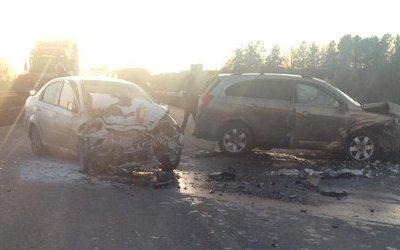 Три человека пострадали в ДТП в Воткинском районе