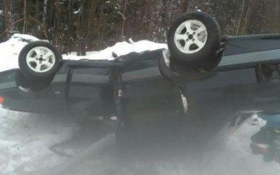 Пассажир ВАЗа пострадал в ДТП на трассе «Кола»