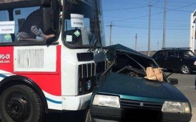 В ДТП с автобусом на Ставрополье погибла женщина