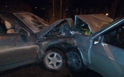 В ДТП в Златоусте пострадали семь человек