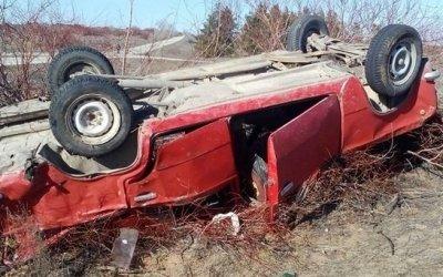 Пять человек пострадали при опрокидывании ВАЗа в Волгоградской области
