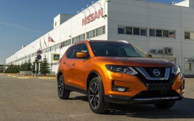 Новая российская версия Nissan X-Trail начнет выпускаться уже в сентябре