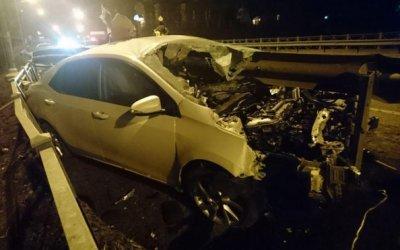 В Гатчинском районе Ленобласти в ДТП погиб человек