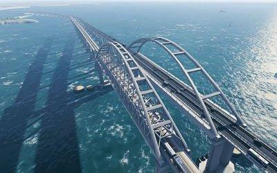 Автомобили смогут поехать поКрымскому мосту уже вближайшие месяцы