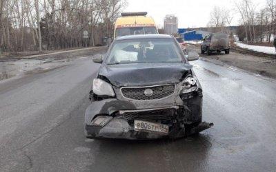 Трое детей пострадали в ДТП в Новосибирске