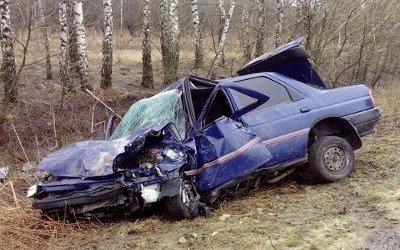 Водитель попал в больницу после ДТП под Тулой