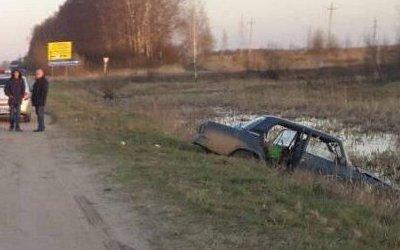 В ДТП под Тулой пострадали двое взрослы и двое детей