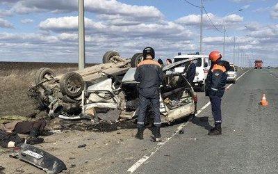 Два человека погибли в ДТП в Воскресенском районе Саратовской области