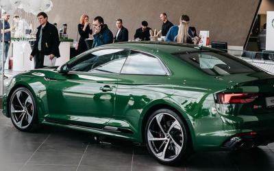 Встреча на молекулярном уровне: поклонники Audi освоили молекулярную кухню в Ауди Центре Восток