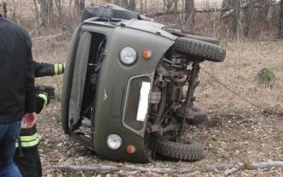 Под Тулой погиб водитель УАЗа без прав