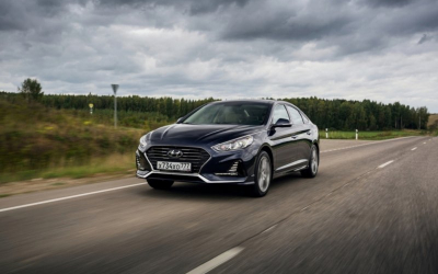 Hyundai Sonata – «Автомобиль года – 2018»» в номинации «Средний класс».