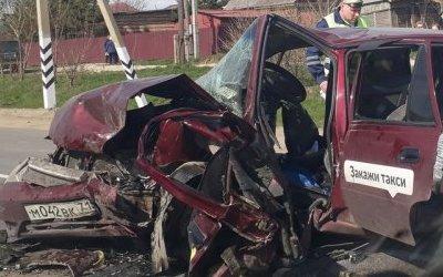 На Московском шоссе в Туле в ДТП погиб водитель