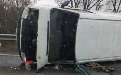 Водитель микроавтобуса погиб в ДТП в Смоленске
