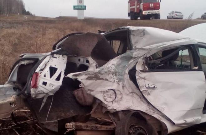 Три человека пострадали в ДТП в Азнакаевском районе Татарстана (1)