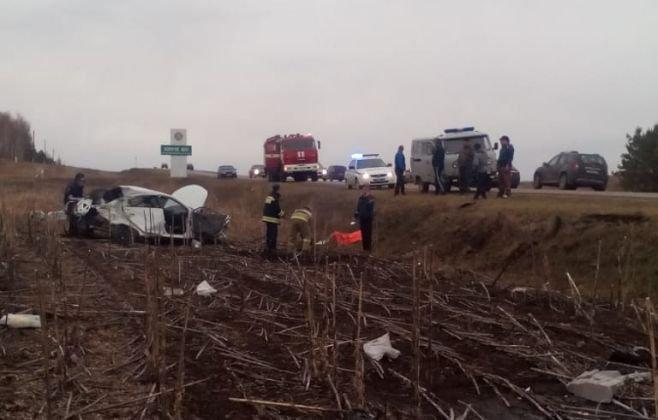 Три человека пострадали в ДТП в Азнакаевском районе Татарстана (2)