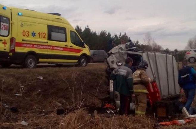 Три человека пострадали в ДТП в Азнакаевском районе Татарстана (3)