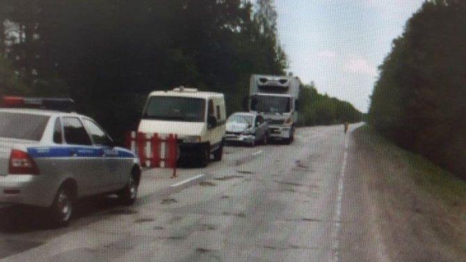 Трое, включая ребенка, пострадали в ДТП в Клепиковском районе Рязанской области