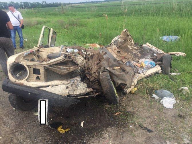 Пять человек погибли в ДТП под Ростовом (1)