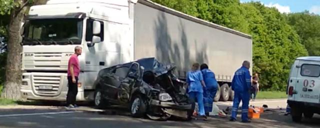 Водитель иномарки погиб в ДТП на трассе «Орел-Брянск»