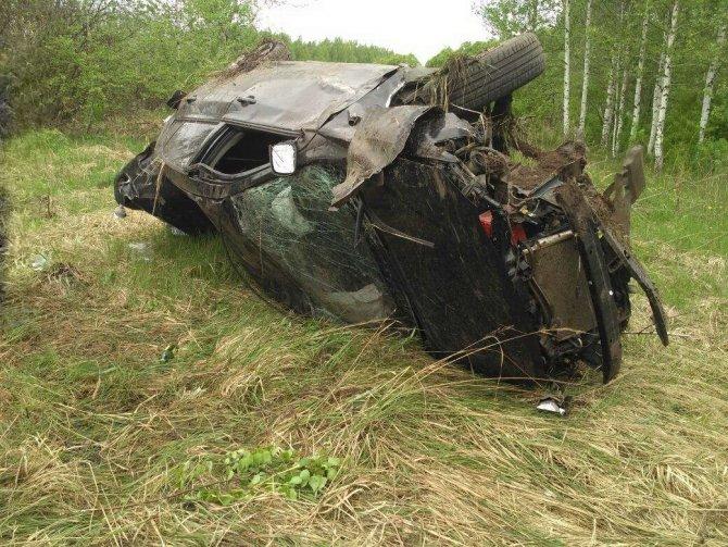 20-летняя девушка-водитель погибла в ДТП в Лукояновском районе (1)
