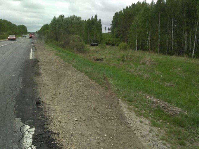 20-летняя девушка-водитель погибла в ДТП в Лукояновском районе (3)