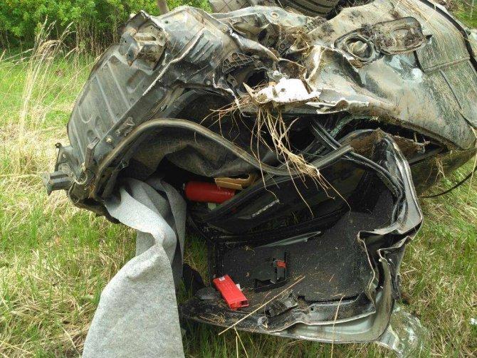 20-летняя девушка-водитель погибла в ДТП в Лукояновском районе (4)