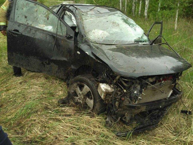 20-летняя девушка-водитель погибла в ДТП в Лукояновском районе (2)