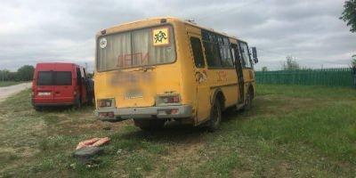 Школьный автобус насмерть сбил женщину в Самарской области (1)