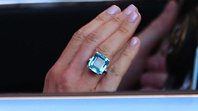 Свадьба принца Гарри и актрисы Меган Маркл, кольцо