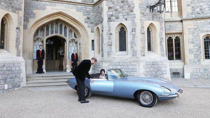 Свадьба принца Гарри и актрисы Меган Маркл, Jaguar E-Type Concept Zero
