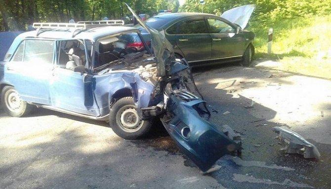 4-летний ребенок погиб в ДТП в Почепском районе
