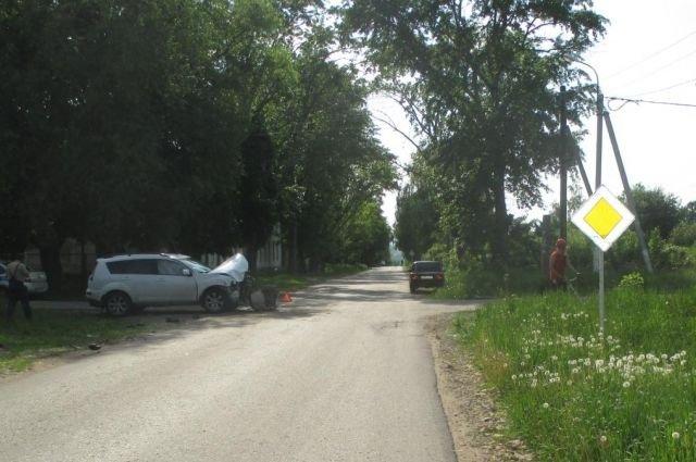 17-летняя девушка пострадала в ДТП в Тульской области