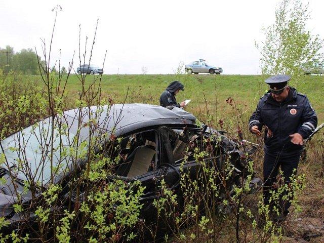 Женщина погибла в ДТП под Троицком