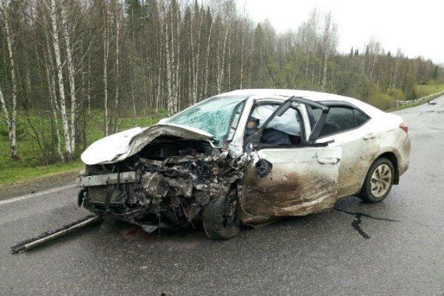 В ДТП в Яшкинском районе Кемеровской области погибли два человека (1)
