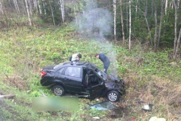 В ДТП в Яшкинском районе Кемеровской области погибли два человека (2)