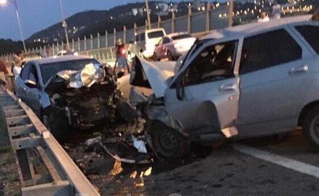 В ДТП на объездной дороге в Сочи погиб человек (2)